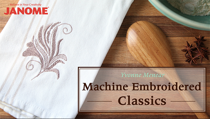 Machine Embroidery is one of many Free on line sewing classes at Craftsy