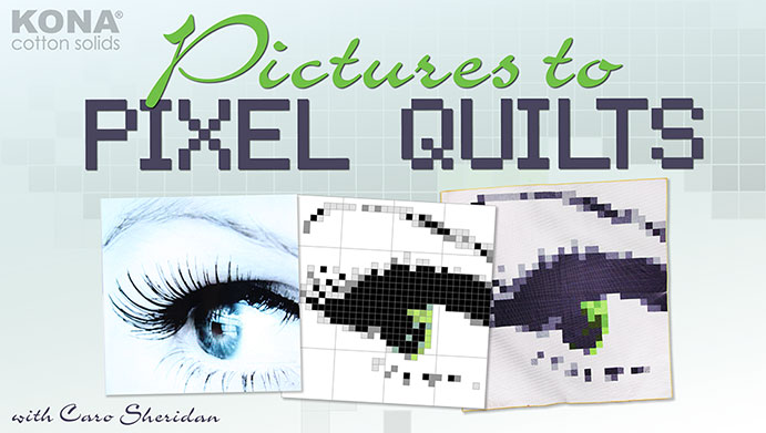 Pictures to Pixels Quilts One of many Free on line sewing classes at Craftsy
