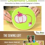 Learn how to make this pincushion applique wall art in this free video class with Heather from The Sewing Loft.