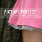 This easy skirt tutorial will help make every picture perfect! The peek a boo tulle adds a sweet detail while the elastic waist is easy to wear. The Sewing Loft