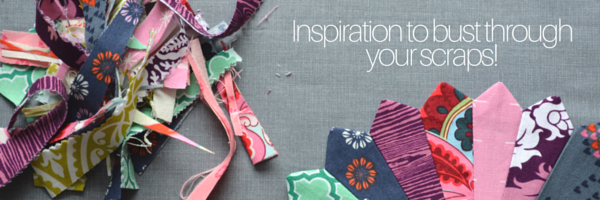 Love scraps? Join Heather from The Sewing Loft for daily inspiration!