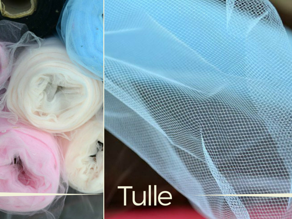 Tulle is a lightweight netting like fabric commonly found in bridal wear. Learn more about the speciality fabric and how to use. The Sewing Loft