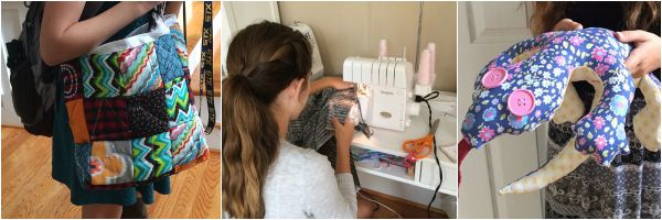 Lady A loves to sew. Follow her adventures on The Sewing Loft.
