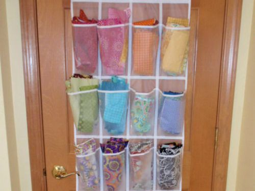 Keep your fabric stash ready for use with these easy tips. 10 useful tips to help organize fabric scraps in your studio space. Pictures included! The Sewing Loft