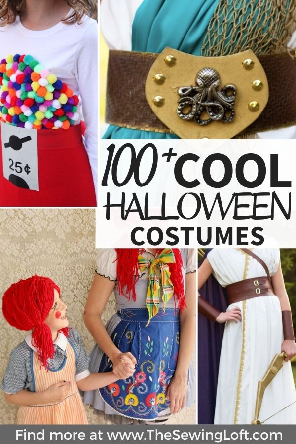 Check out this incredible round-up of creative costumes for Halloween. There is seriously something for everyone in the family!