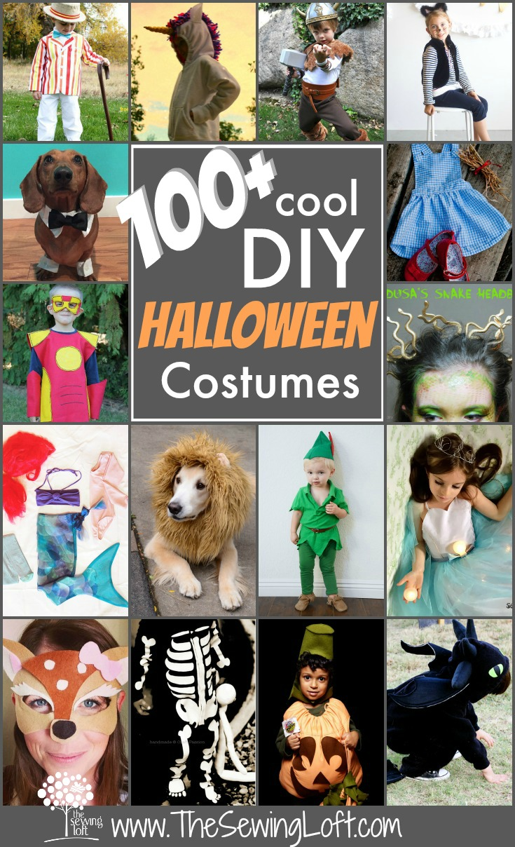 100+ Creative Costumes for Halloween rounded Up in one place. The Sewing Loft