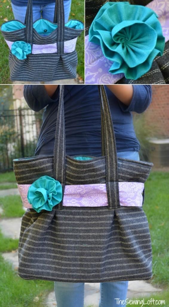 Purse Palooza Venna Tote Pattern Review by The Sewing Loft
