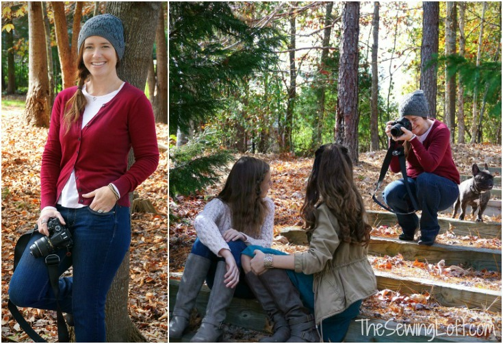 Taking pictures is easy with these simple camera tips and tools. The Sewing Loft
