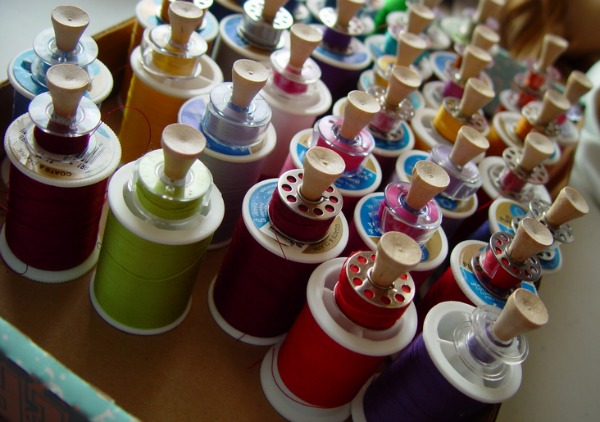 Tame your loose bobbin threads with these creative bobbin storage ideas. They are sure to help keep your threads detangled and drawers clean. The Sewing Loft