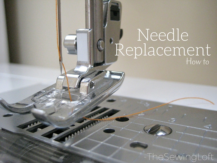 Replacing your needle is part of basic machine maintenance. Not only do needles wear out and become dull over time but sometimes, they break. Simple tips. The Sewing Loft