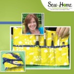 Learn how to create perfect binding every time while making this custom makeup brush case during my free video class with Sew at Home.