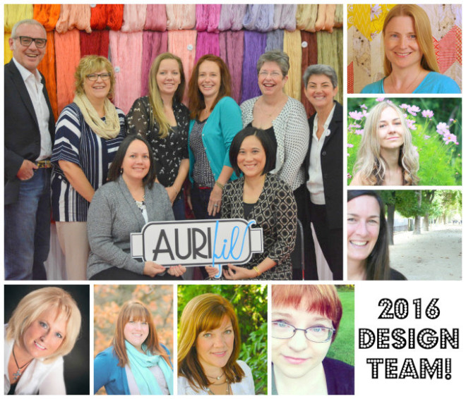 I'm excited to be part of the Aurifil Design Team 2016. Learn more about our upcoming year together. The Sewing Loft