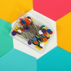 flat Flower Pins 50 Count