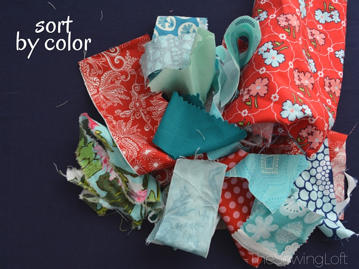 Create new fabric from smaller pieces of scrap fabric with this easy scrap management technique. The Sewing Loft