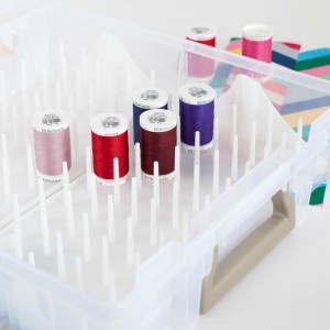 Thread Box with Pull Out Trays