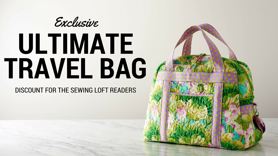 This Ultimate Travel bag class is amazing! Annie does an awesome job walking you through every step and make the process so simple to follow.