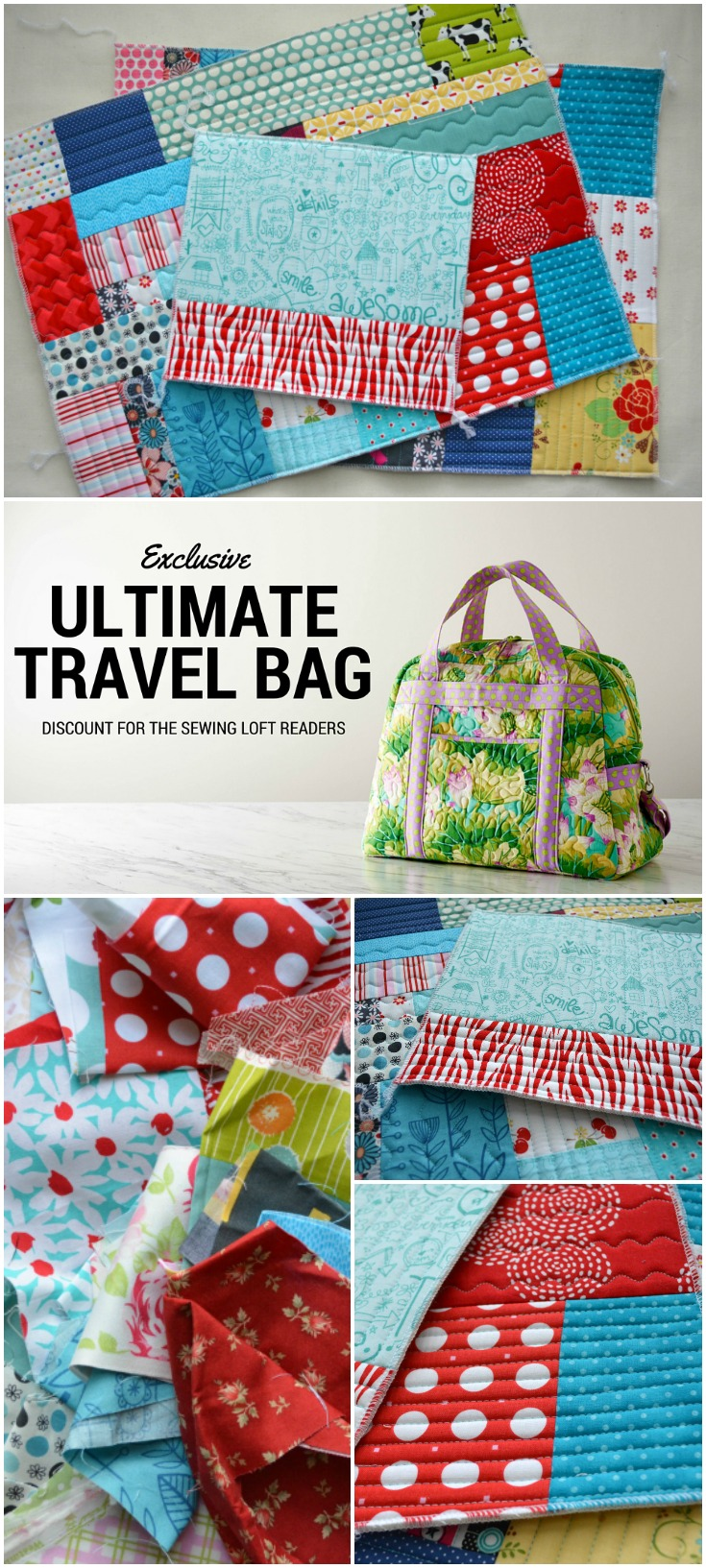 This Ultimate Travel bag class is amazing! Annie does an awesome job walking you through every step and make the process so simple to follow. I'm making my bag from scraps and love the way it's turning out!