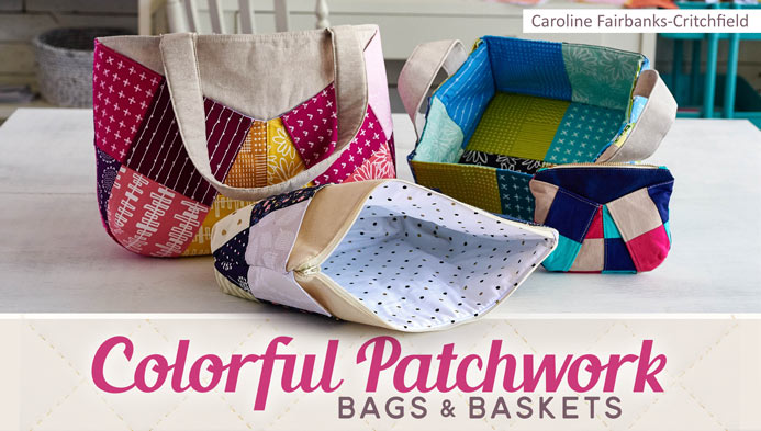 Colorful Patchwork Bags Craftsy Class