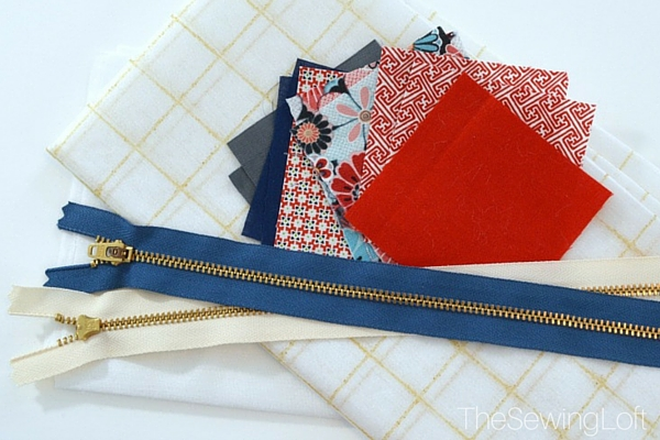 Colorful Patchwork Bag from Craftsy Class