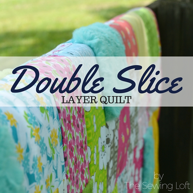 My double slice layer quilt is being featured on MSQC Tutorial Reboot.