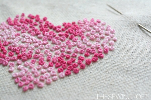 Hand Embroidery French Knots