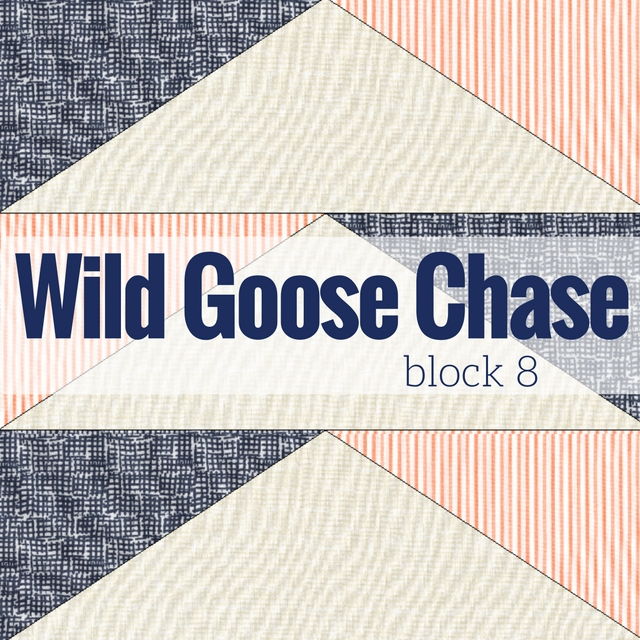 It's time for the next block in the Starry Night Quilt Sampler - Wild Goose Chase Block 8. Come join the fun and Increase your skill set with a block of the Month sewing series on The Sewing Loft.
