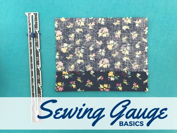 Learn how a simple sewing gauge can help your everyday sewing. This basic tool is more than just a gadget and can improve your skills in so many ways.