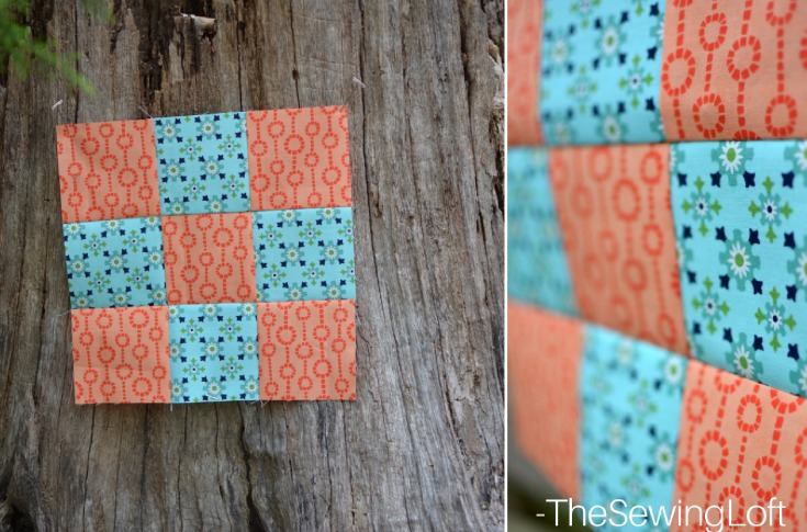 The simple 9 patch is a corner stone block in quilting. It is so easy to make and a great foundation block to make other designs from.