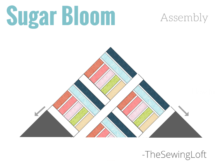 It's time to work on our Sugar Bloom quilt layout and wrap up spring quilt. These easy tips will make quick work of the sewing time.