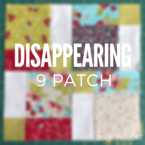The disappearing 9 patch let's you create amazing designs from a simple quilt block. Learn how to create different quilt designs with this one simple block.