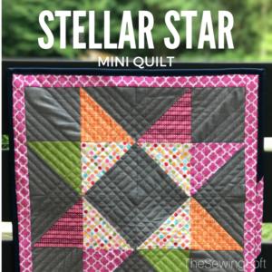 Learn how to perfect your points with the Stellar Star Quilt from Fabric Editions. This skill builder is one that you will want to have in your tool belt- includes video.