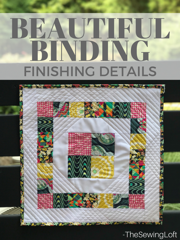 Learn how to create beautiful quilt binding with this simple DIY tip. Includes video