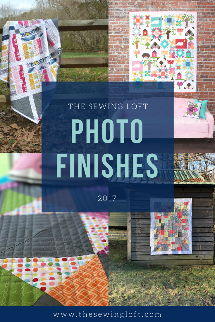 2017 finished quilts