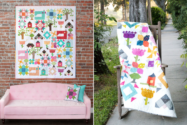 Looking to grow your skills while making something fun? I say, let's do it together! So grab your scraps because I'm going to sew a block a month all year long to create this Heartland Heritage quilt!