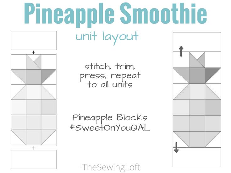 Pineapple Row Layout | #SweetonyouQAL