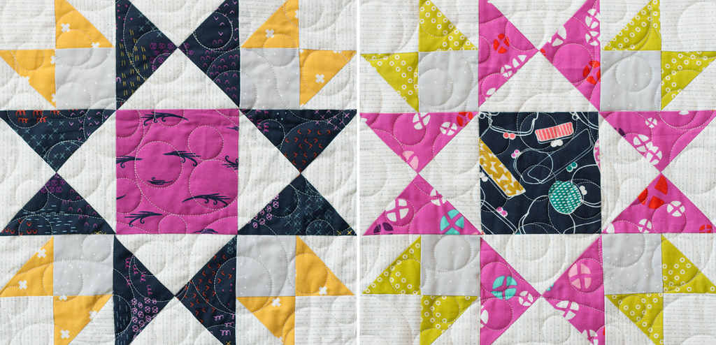 The Star Bright quilt block from Heartland Heritage is all about mixing colors and half square triangles. It is the perfect design for using up your fabric scraps. Learn easy tips to ensure sewing success.
