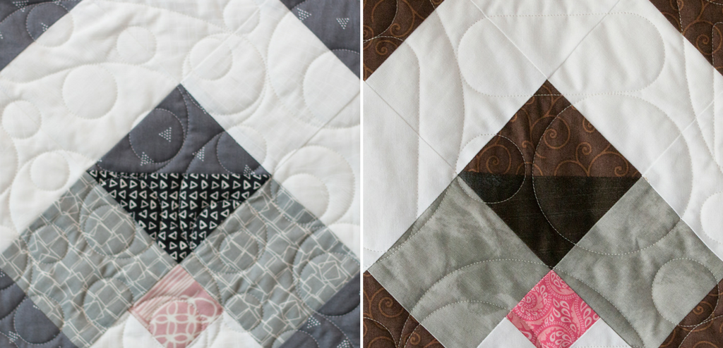 """Grab your left over fabric scraps and stitch up a few cute Puppy Love quilt blocks. The block finishes 9"""" square and is from the Heartland Heritage quilt pattern."""