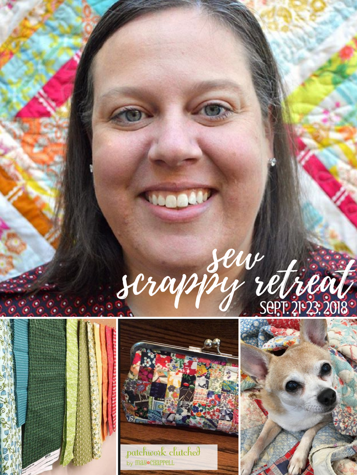 Grab your scraps and come join us for a weekend getaway filled with creativity, new friends, and plenty of new projects to keep your machine stitching for days! Sew Scrappy Retreat Tickets are now on Sale!