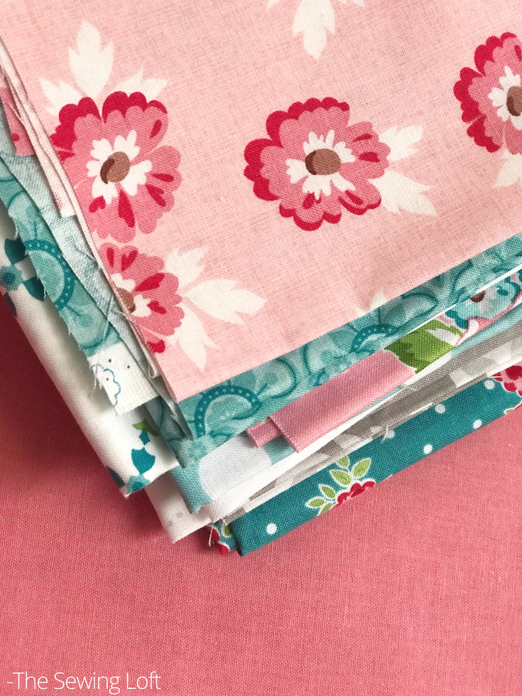 Don't be afraid to pull a mixture of fabrics to make your honest quilt block in the Friendship Quilt Along. Remember that each block is designed to help you build your quilting skills.
