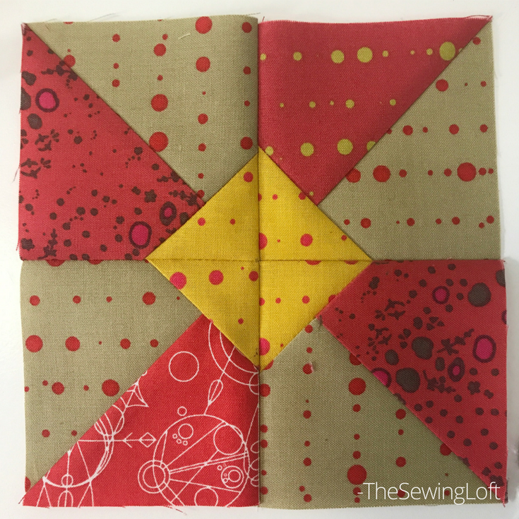 The sunshine quilt block from Heartland Heritage is perfect for summer, easy to make and great for scraps. Learn easy tips to ensure sewing success.