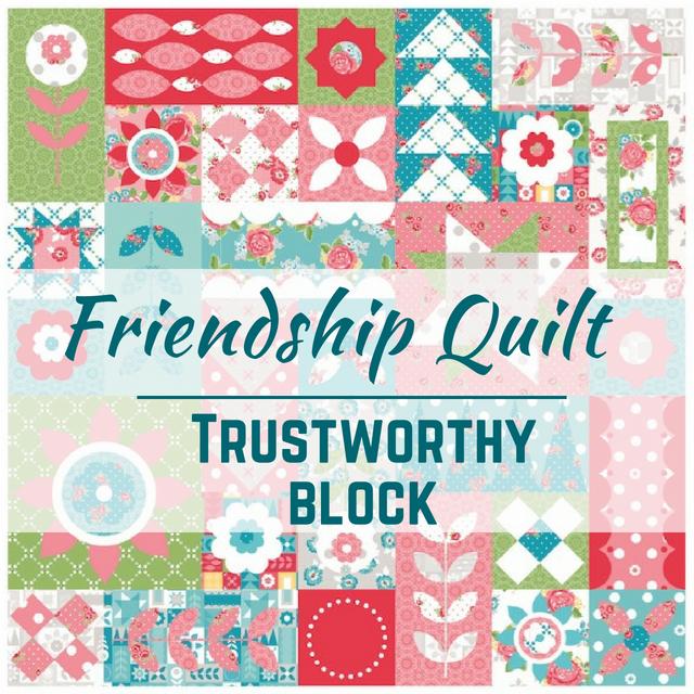 Trustworthy Quilt Block   Free Pattern