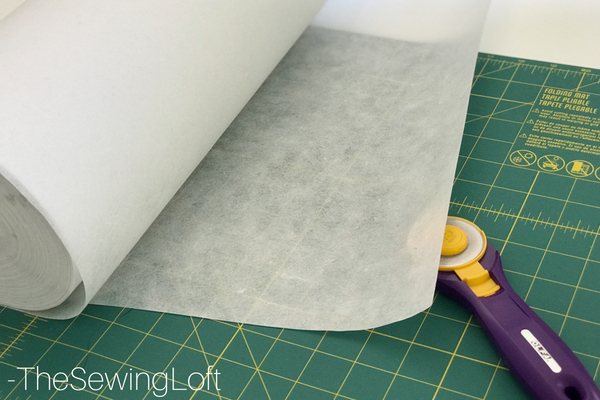 Sewing Tip - Tear Away Stabilizer