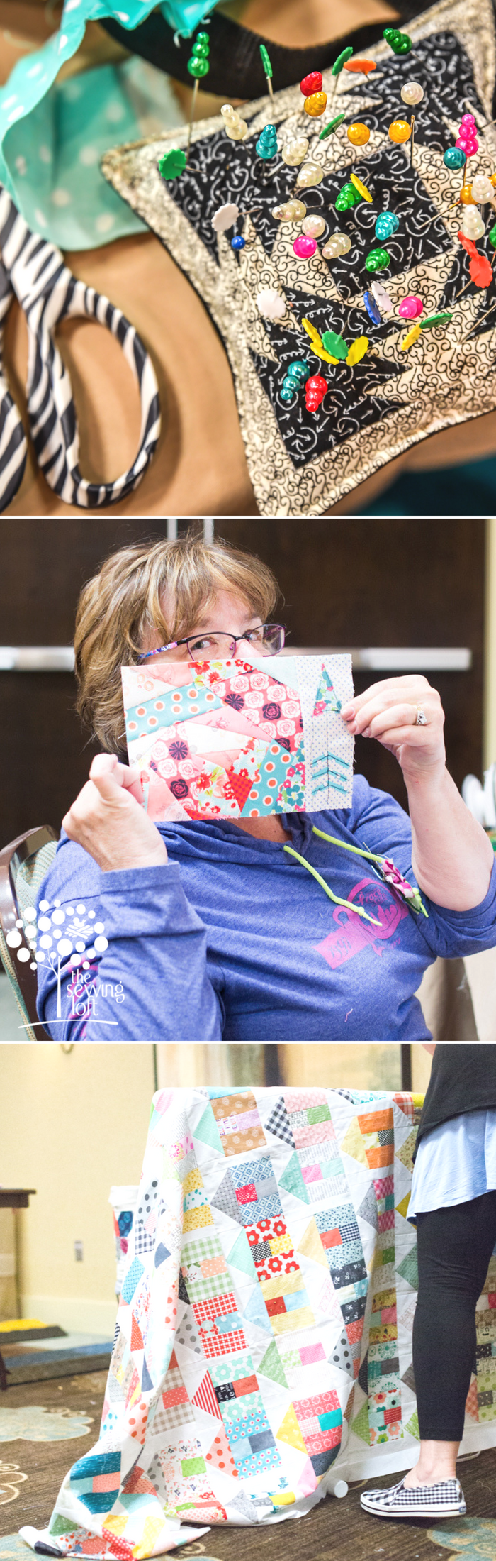 Sew Scrappy Sewing Retreat Projects