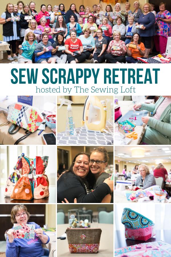 Sew Scrappy Sewing Retreat Snapshots