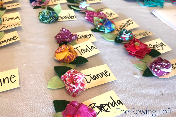 Sew Scrappy Sewing Retreat Tags