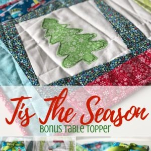 Holiday Table Topper DIY Pattern