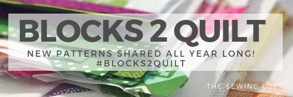 Looking to improve your quilting skills? Join the Blocks 2 Quilt sew along. Each week a new block will be shared with complete instructions for easy sewing.