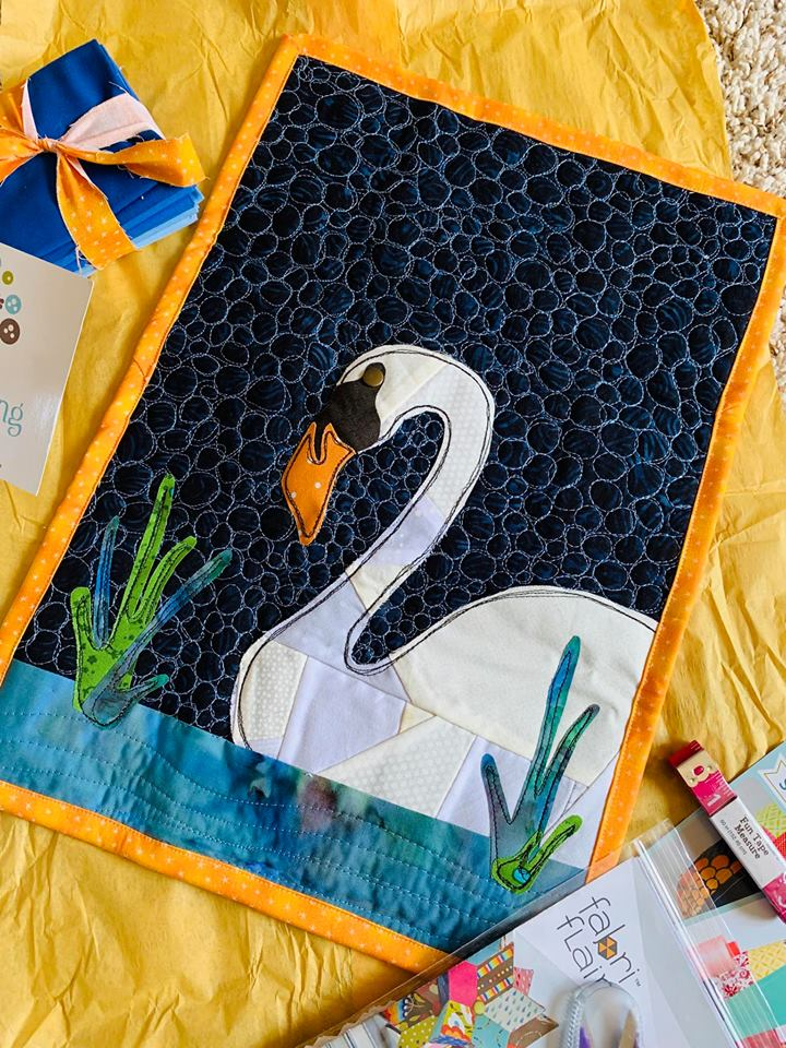 Mini Quilt SWAP partner package   The Sewing Loft
