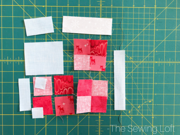 Pull out all your favorite colors for this Patchwork Stocking Quilt Block. The design is perfect for scraps  and easy to make. Available in 2 sizes for instant download.