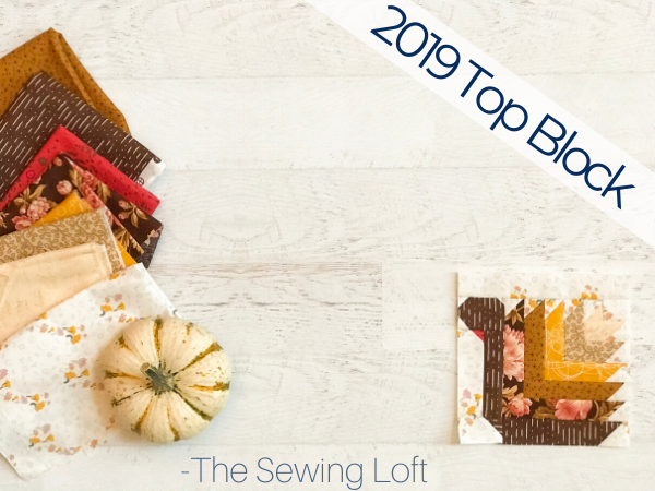 This handsome Turkey Trot quilt block has climbed to the top of the 2019 top quilt block list.